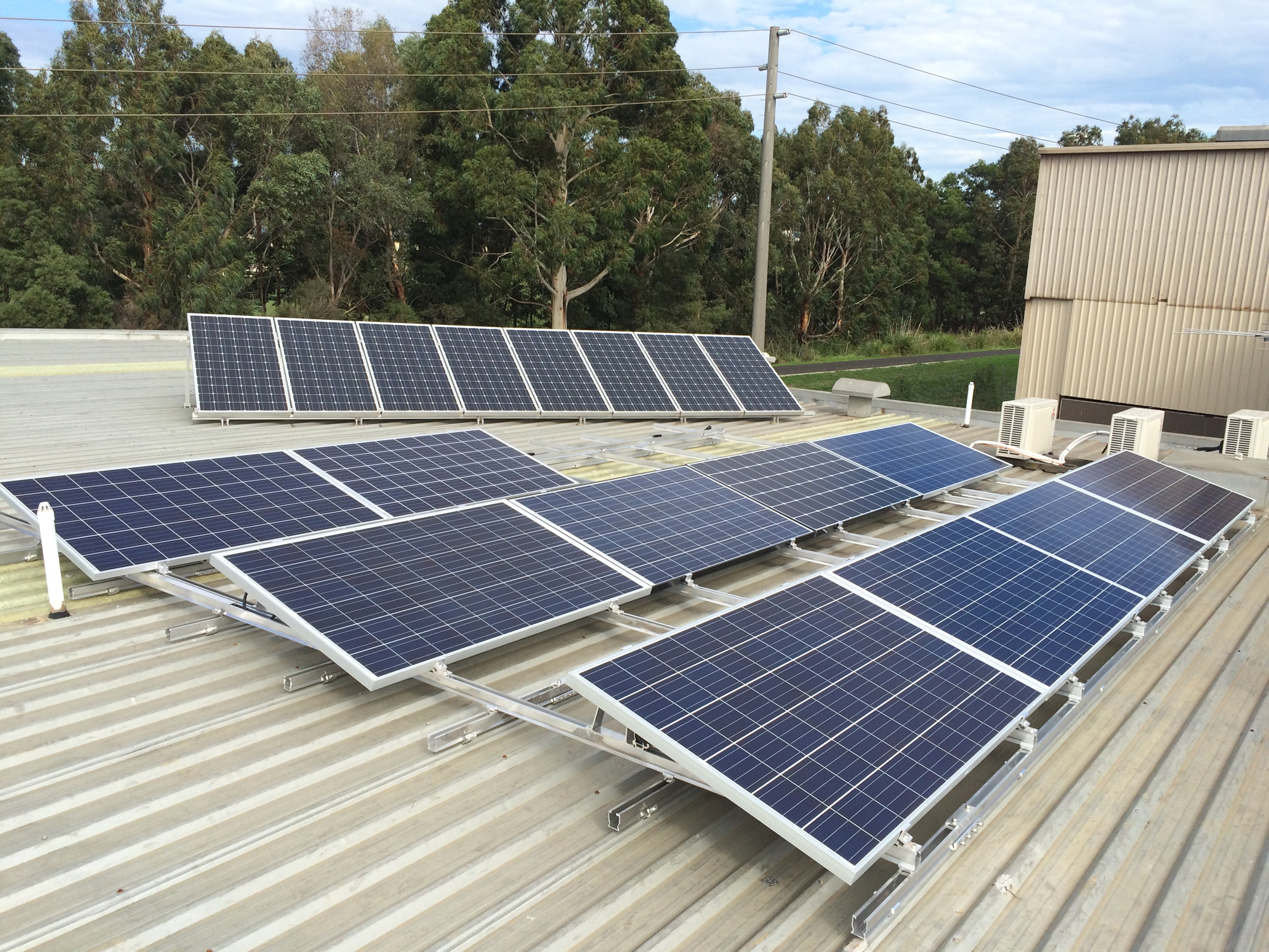 Solar Test Project At Our Office Compleat Electrics